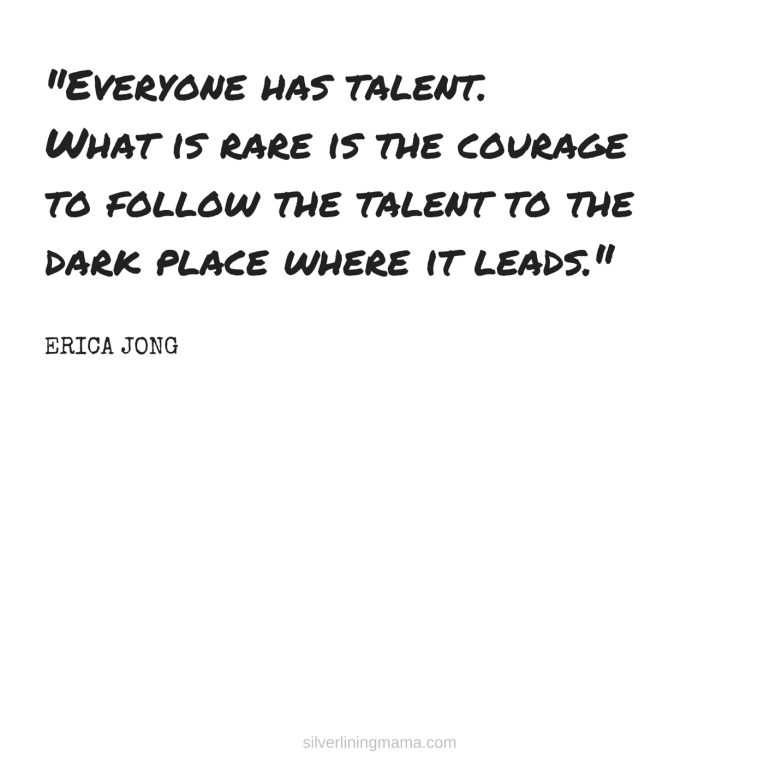 Courage to Follow Talent