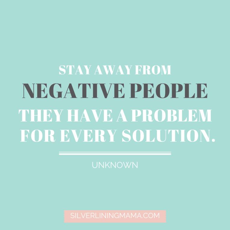 Negative People Seek Problems