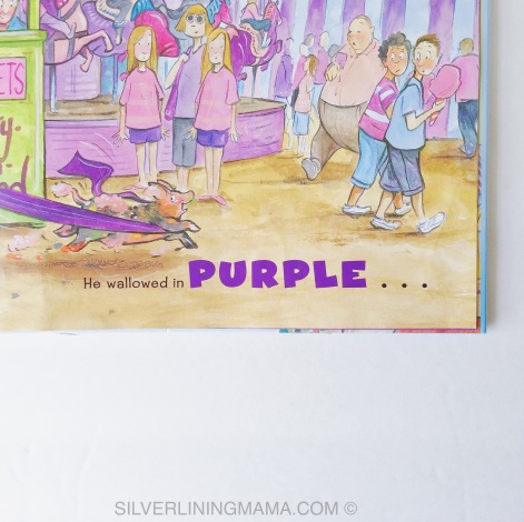 Wee Piggy Purple